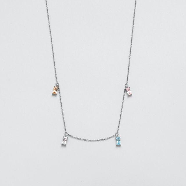 Icon prism necklace
