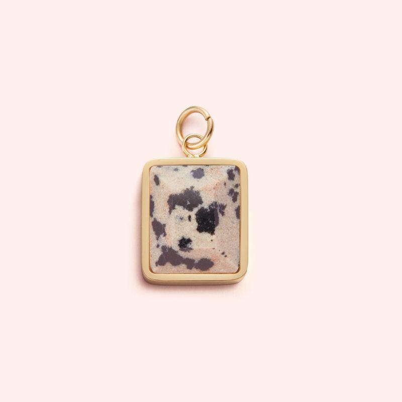 Dalmatian Jasper charm