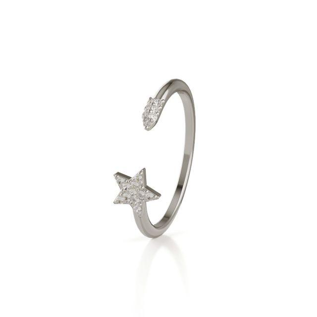 Trilogy Star ring