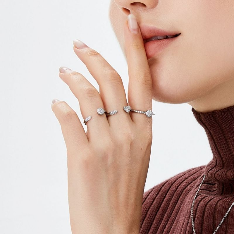 Trilogy Heart ring