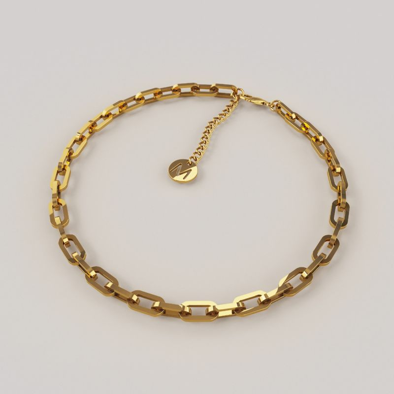 Icon chain bracelet