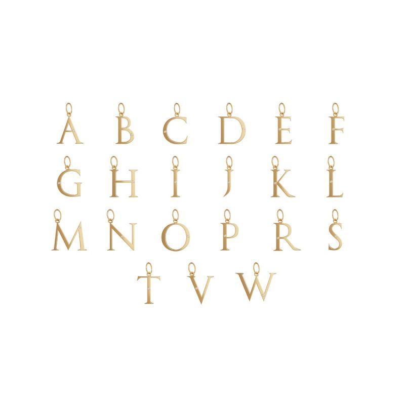 立體字母墜飾