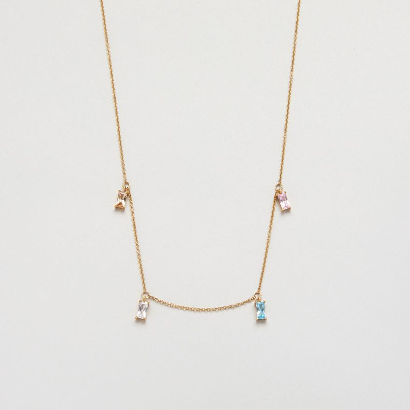 Icon prism necklace
