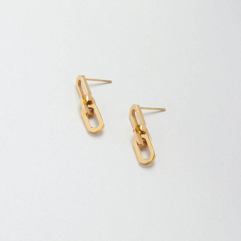 Icon drop earrings
