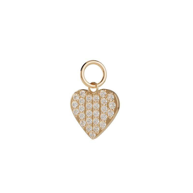 Trilogy Heart charm