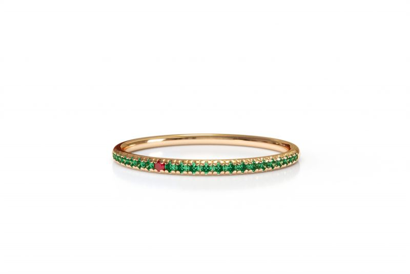 Sofia green ring