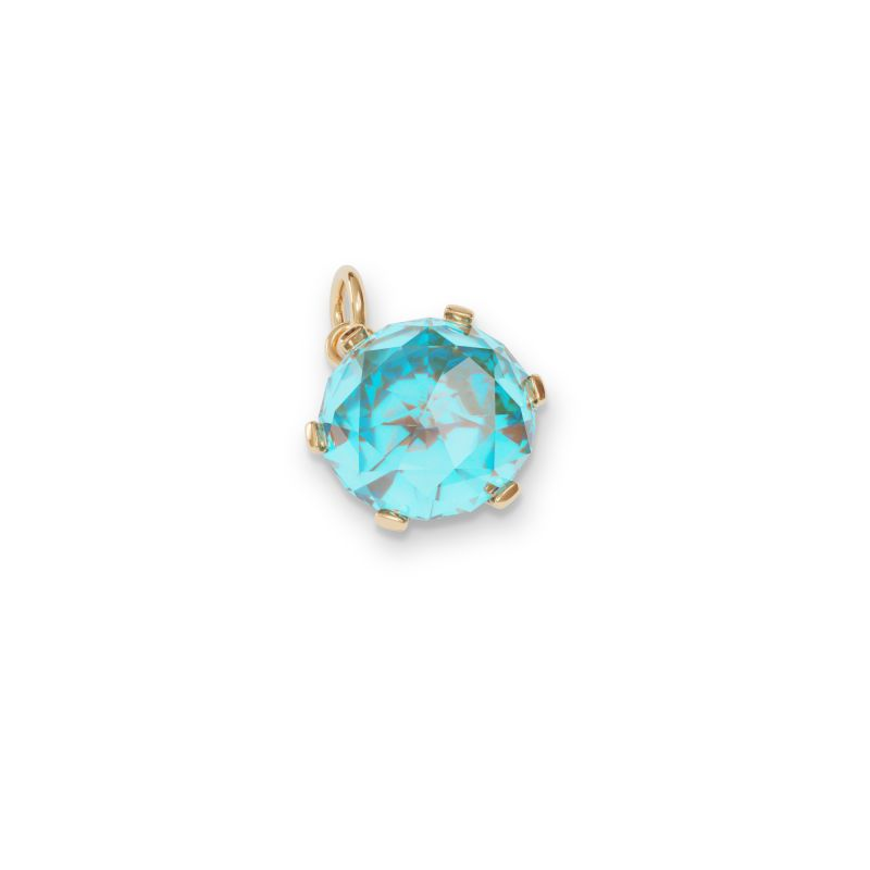 March Birthstone Charm