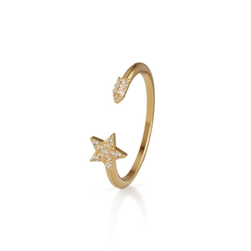 Trilogy Star ring