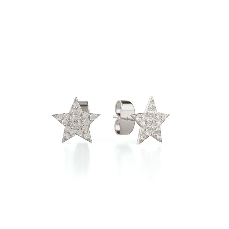 Trilogy Star ear studs