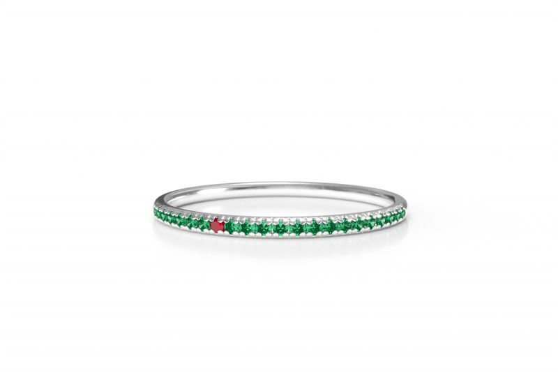 Sofia green ring