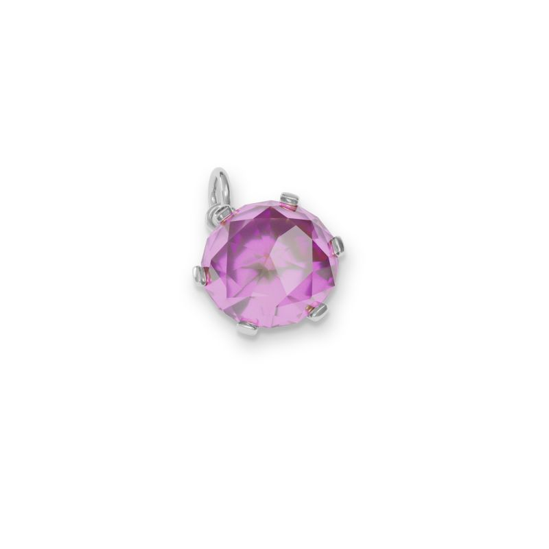 February Birthstone Charm