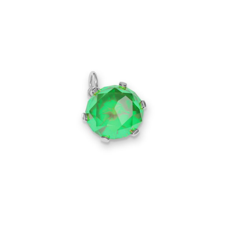 May Birthstone Charm