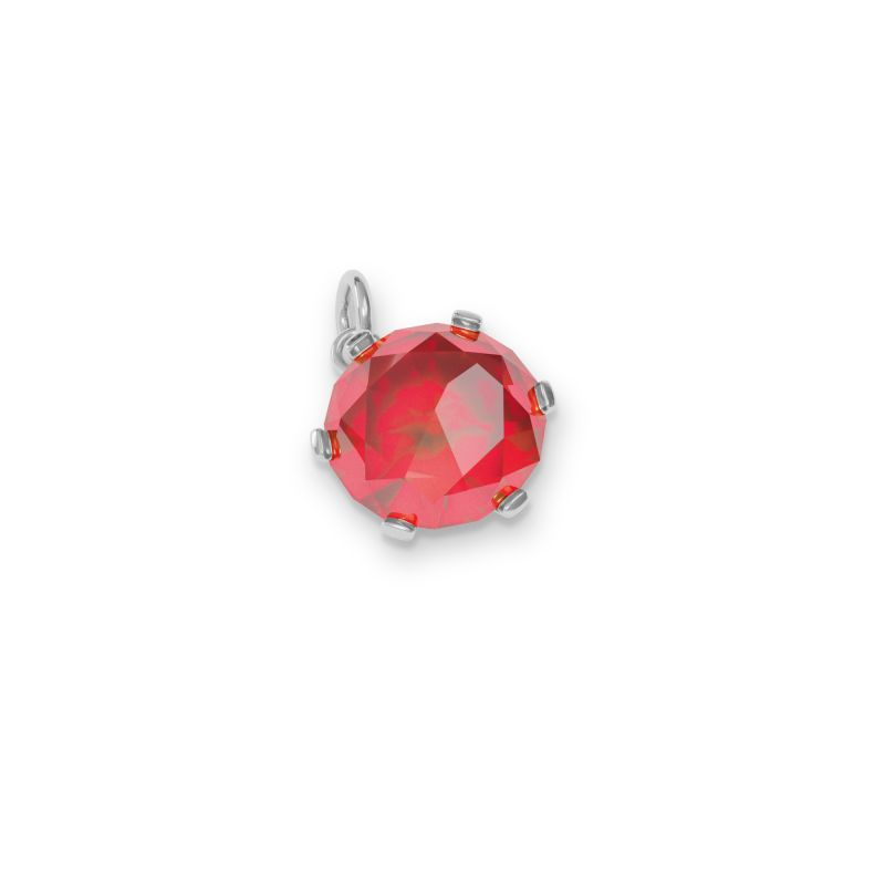 January Birthstone Charm