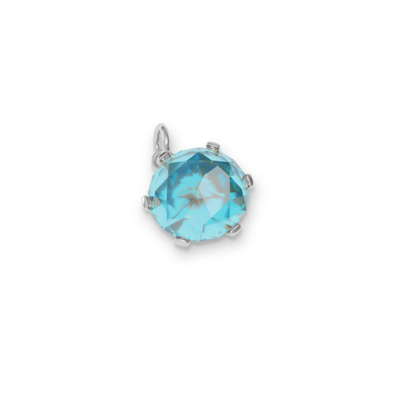 December Birthstone Charm