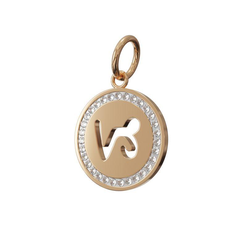 Capricorn Zodiac Charm