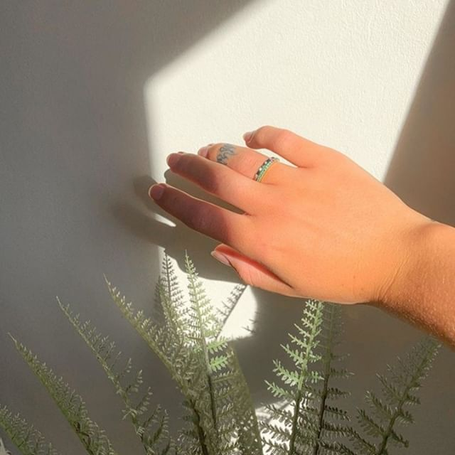 The perfect ring for summer? Sofia green!!