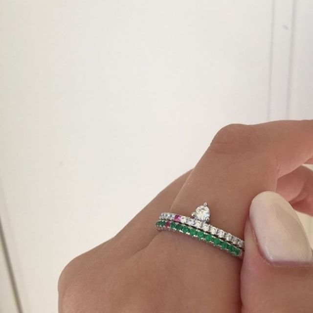 A ring perfect for summer? Sofia Green!