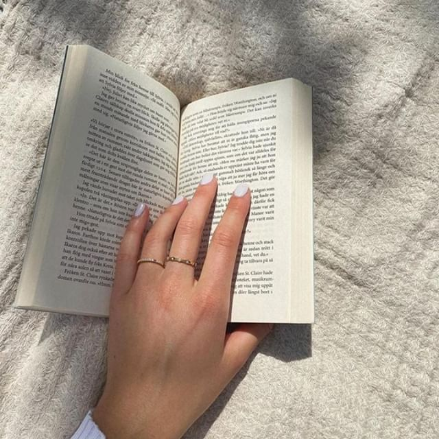 Where you will find us today, in the sun, reading a book, wearing our favourite rings