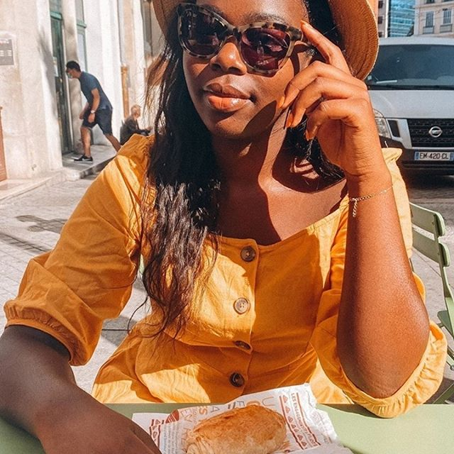 Stunning @aboutnoemiel showing off her Freja ring while enjoying the sun ☀️