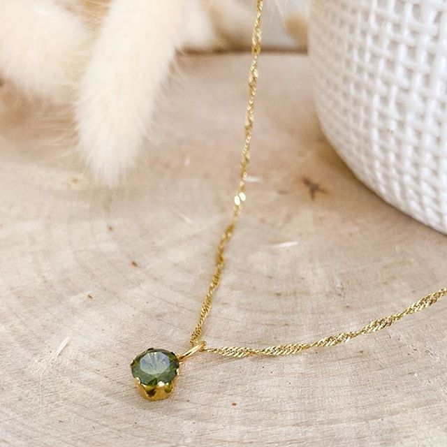 Birthstone charms, a perfect addition to your favourite necklace chain ❤️ (Photo: @marine_samedimatin ) #MarcMirren #DetailsbyMM