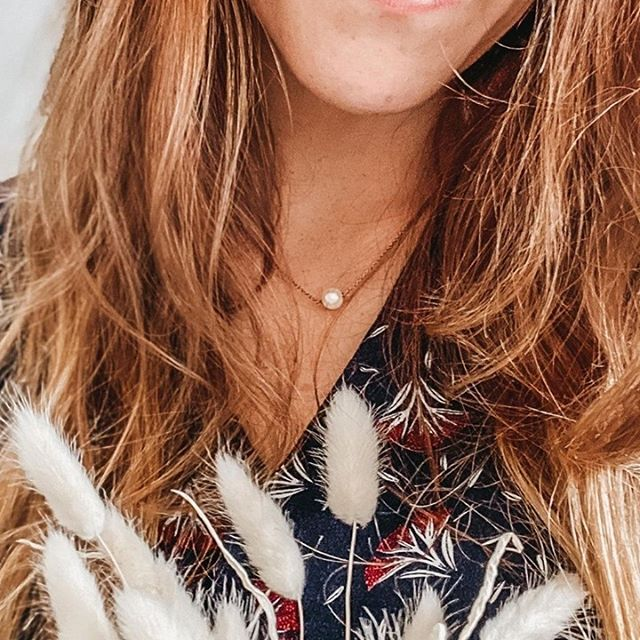 Stunning @marine_samedimatin wearing the Pärla necklace, discrete and elegant ✨ Designed for every occasion ❤️ #MarcMirren #DetailsbyMM