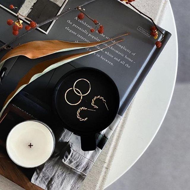 The perfect everyday earrings - Sigrid medium hoops and Link hoops