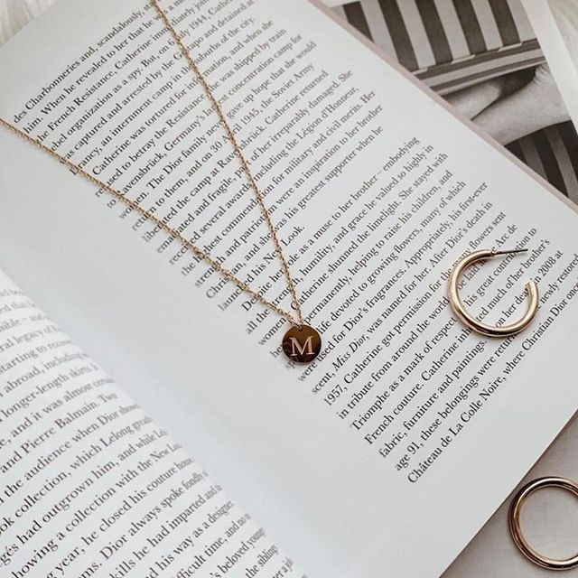 Tell your story with our Letter charm