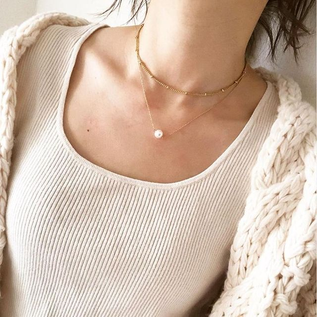 Can you master the art of layering necklaces?