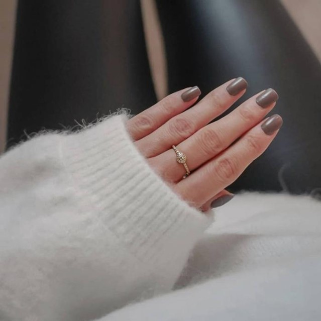 Winter coziness with our Alva ring