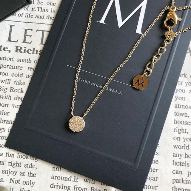 Dainty, simple and suits everyone - Alva Necklace ✨ (Photo:@ochasan1015 )  #MarcMirren #DetailsbyMM